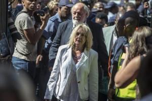 la madre di Reeva Steenkamp
