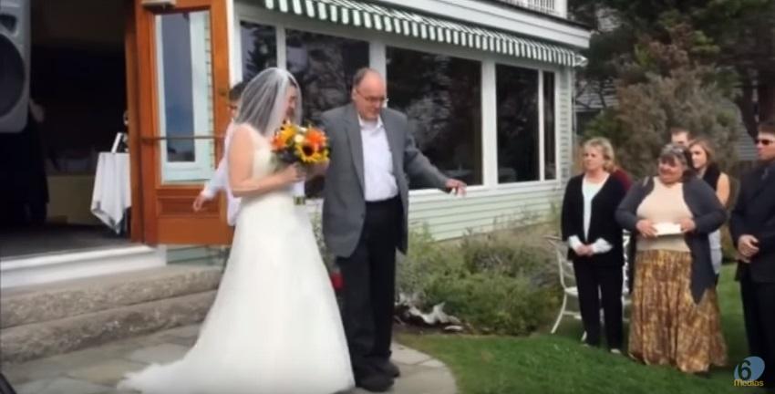 Miracolo si alza da sedia a rotelle per figlia a altare for Sedia a rotelle per gatti