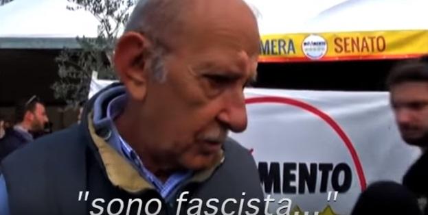 """YOUTUBE Vittorio Di Battista: """"So' fascista"""". Padre M5s..."""