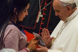 """Papa a rom e sinti: """"Non date modo di parlare male di voi"""""""