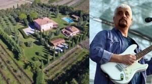 Pino Daniele, in vendita la sua villa in Maremma