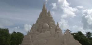 Castello di sabbia da Guinness World Records a Miami