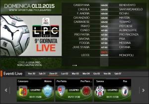 Savona-Pisa: streaming diretta live Sportube su Blitz, ecco come vederla