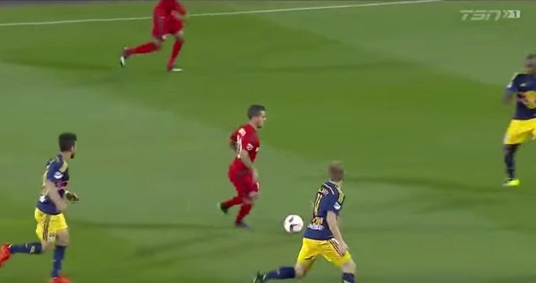Sebastian Giovinco in azione (foto da YouTube)