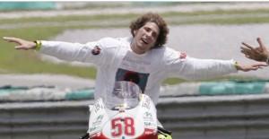 Marco Simoncelli, 4 anni fa l'incidente mortale