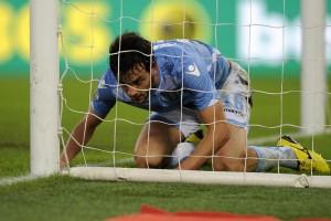 Lazio, Marco Parolo fuori un mese: lesione alla coscia