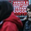 LaPresse 07-11-2009 Manifestazione per la morte di Stefano Cucchi Nella foto: manifestanti
