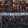 Stefano Cucchi: striscione degli Ultrà Lecce (LaPresse)