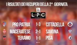 Teramo-Pisa 1-1: highlights Sportube su Blitz