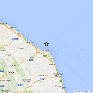 Terremoto vicino Ancona: magnitudo 2.9