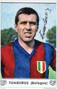 Morto Paride Tumburus: vinse scudetto con il Bologna nel '64