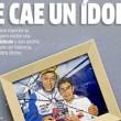 La prima pagina del quotidiano spagnolo Marca su Valentino Rossi e Marc Marquez