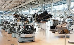Una fabbrica della Volkswagen