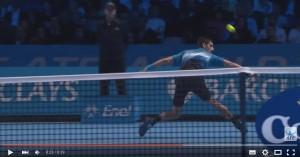 "VIDEO YOUTUBE - Djokovic show con ""rovescio rovesciato"""