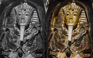 YOUTUBE Tomba di Tutankhamon per la prima volta a colori