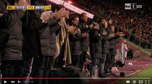 VIDEO YOUTUBE - Belgio-Italia 3-1, ricordo vittime Heysel