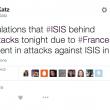 "Attentati a Parigi, Isis: ""Ora Roma, Londra e Washington"""