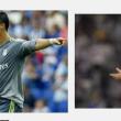 REAL MADRID (4-2-3-1): Navas 5; Danilo 3,5, Varane 5, Ramos 5, Marcelo 4,5 (dal 59′ Carvajal 5); Kroos 5, Modric 5; J. Rodriguez 5 (dal 55′ Isco 4,5), Bale 4,5, Ronaldo 4; Benzema 4. All. Benitez BARCELLONA (4-3-1-2): Bravo 6,5; Dani Alves 6,5, Piquè 6, Mascherano 6,5, Jordi Alba 7; Sergi Roberto 6,5, Busquets 7, Rakitic 6 (dal 57′ Messi 6,5); Iniesta 8,5 (dal 77′ El Haddadi sv); Neymar 7,5, Suarez 8. All. Luis Enrique