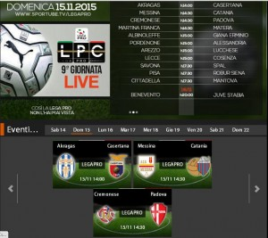 Akragas-Casertana: streaming Sportube diretta live su Blitz, ecco come vederla