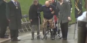 VIDEO YouTube-Soldati amputati camminano in onore dei caduti
