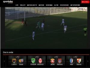 Arezzo-Lupa Roma: streaming diretta live Sportube