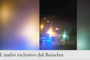 VIDEO Bataclan, italiano al concerto riprende tutto