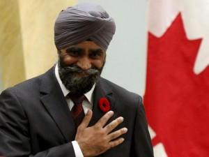 Canada, un ministro sikh nel governo di Justin Trudeau