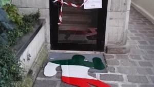 Skinheads: sagome di morti tricolori davanti a sedi Caritas