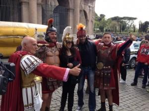 """Danilo Pascolo, centurione al Colosseo: """"2mila euro al mese"""""""