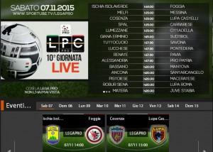 Cosenza-Lupa Castelli Romani: streaming diretta Sportube, ecco come vederla