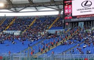 Roma-Lazio, derby curve vuote: ultras continuano diserzione