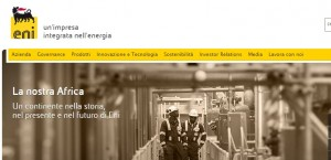 Eni primo Webranking Italia 2015 per comunicazione corporate