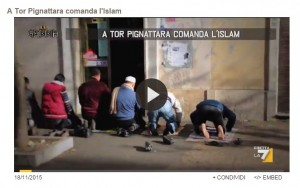 "La Gabbia: ""Islam comanda a Tor Pignattara"", ma..."