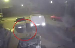 Un uomo australiano è convinto di aver catturato la presenza di un fantasma in un parcheggio di Perth...