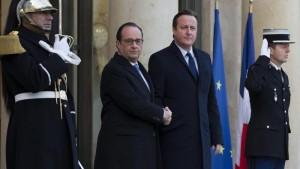 Il premier britannico ha detto di più: questa settimana vorrebbe ottenere l'autorizzazione del Parlamento per poter partecipare ai raid