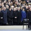 "Hollande, omaggio vittime: ""Isis, agiremo19"