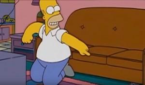 """Homer Simpson contro Marc Marquez: """"Crepa, mostro"""""""
