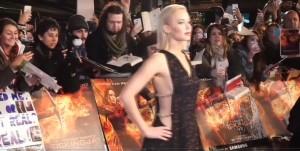 "Jennifer Lawrence, abito Dior su red carpet ""Hunger Games"""