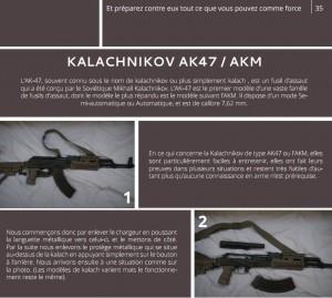 Parigi attentati: guida uso kalashnikov online 10 gg. prima