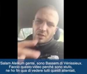 """YOUTUBE Musulmano francese: """"Spacchiamo faccia ai fanatici"""""""