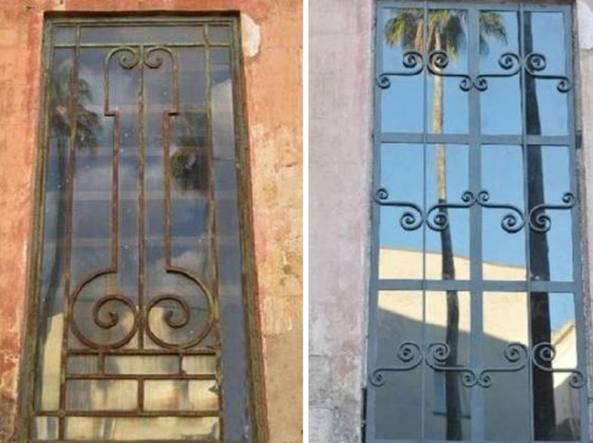 FOTO Lecce, finestra fallica rimossa. Ma la città la vuole