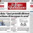 """Marco Travaglio sul Fatto Quotidiano: """"Campo Dall'Orbo"""""""