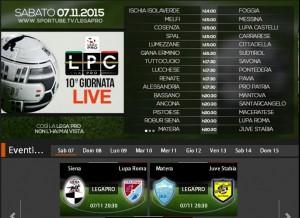 Matera-Juve Stabia: streaming diretta live Sportube, ecco come vederla
