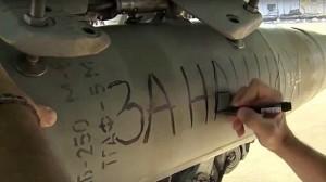 """VIDEO YouTube: missili russi su Isis con dedica """"Per Parigi"""""""