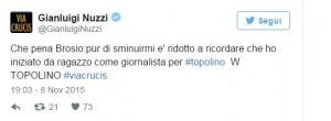 """Paolo Brosio vs Gianluigi Nuzzi: """"Lavoravi a Topolino..."""""""