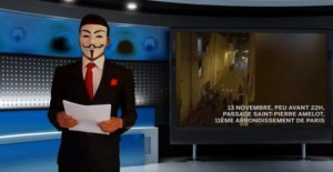 "YOUTUBE Anonymous bracca Isis: ""Più vicini a vostri padroni"""
