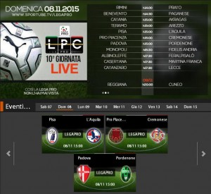 Padova-Pordenone: streaming Sportube diretta live su Blitz, ecco come vederla