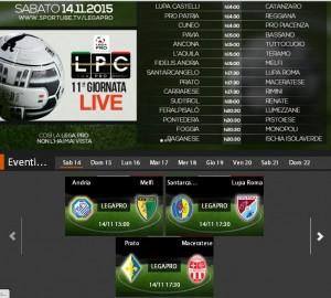 Prato-Maceratese: streaming Sportube in diretta live, ecco come vederla