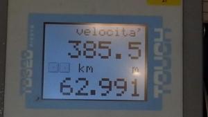 Frecciarossa 1000, nuovo record velocità: oltre 385 km/h