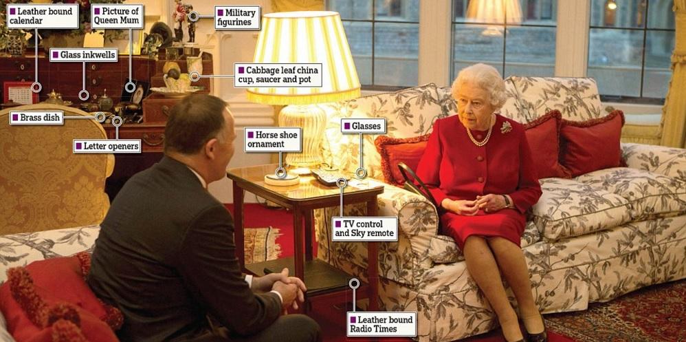 Regina Elisabetta, cosa c'è nel suo studio privato FOTO